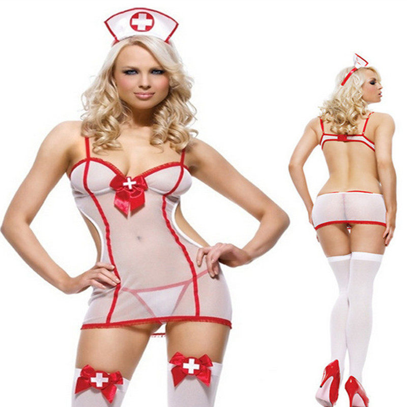 sexy women lingerie hot set nurse uniform sexy underwear sleepwear erotic lingerie sexy maid sexy cosplay