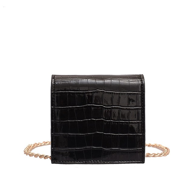Stone pattern PU Leather Mini cute Crossbody Bags For Women 2019 Vintage Handbags and Purses Ladies Shoulder Bag CrossBody Bag