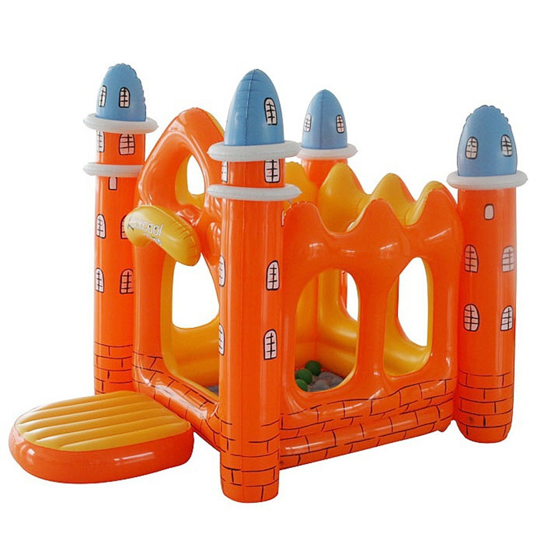 Inflatable House Children Paradise Bouncy Castle With Naughty Fort Large Inflatable Toy Castle L1665 недорго, оригинальная цена