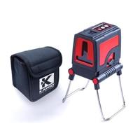 KAPRO Бесплатная доставка Высокая точность профессиональный 2 линии наливные лазерный нивелир Красного Креста линейного уровня измерительны