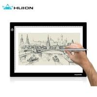 Huion L4S 17 7 Ultra Thin 5mm LED Light Box USB Tracing Board Pad Pencil Portable
