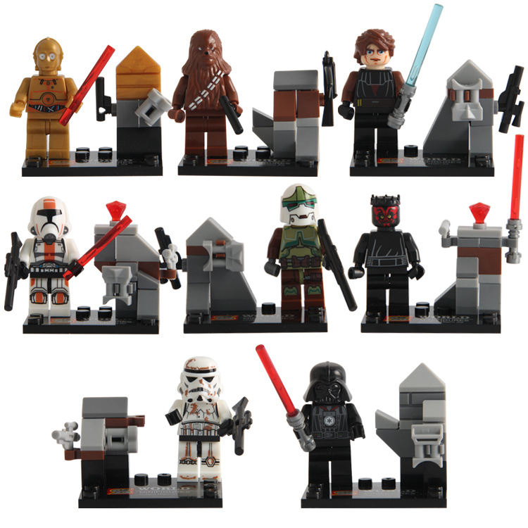 Building Blocks Super Heroes Star Wars Darth Vader