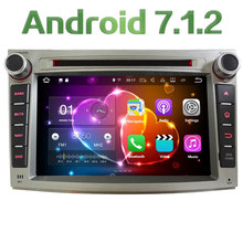 "7"" Android 7.1.2 Quad Core 2GB RAM 4G DAB Car Multimedia DVD Player Radio GPS Navi Stereo For Subaru Legacy Outback 2009-2014"