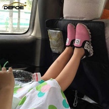auto seat cover car organizCar storage bag child safety back vehicle box Prevent children kick