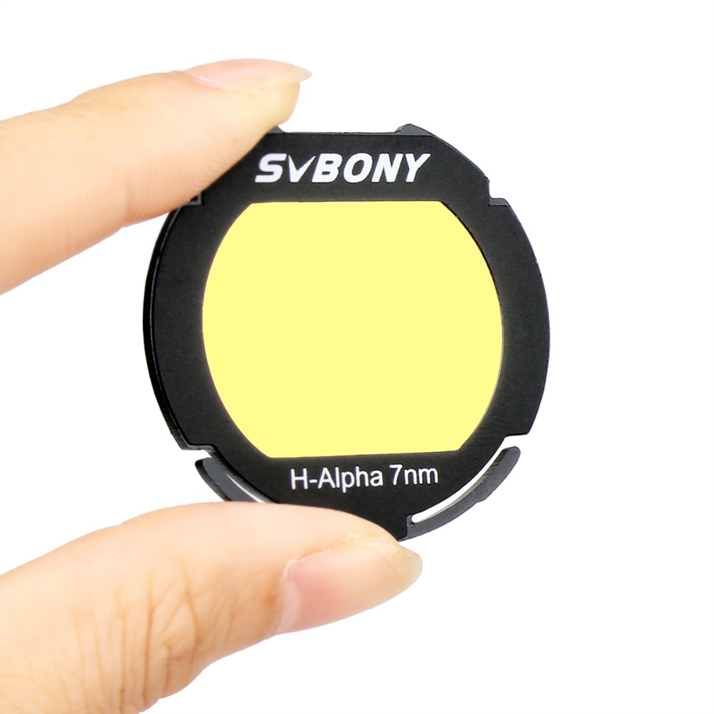 все цены на SVBNOY H-Alpha 7nm for Canon EOS-C Clip Filter Narrowband Astronomical Telescope Photographic CCD Filter for Deep Sky F9169D онлайн