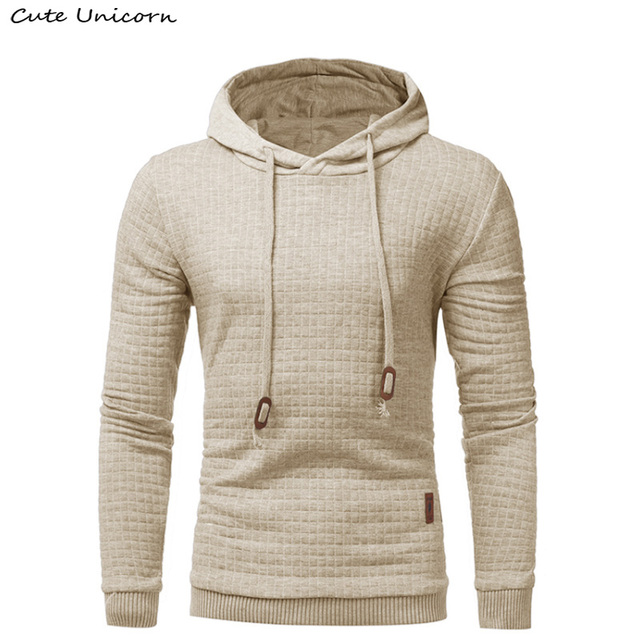 6a7a06d5f New Cheap Hoodies Men 2018 Male Solid Color Hooded Sweatshirt Mens Hoodie  Tracksuit Casual Coat black plaid Sportswear S 4XL-in Hoodies & Sweatshirts  from ...