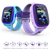 DF25 Children GPS Smartwatch IP67 Waterproof Touch Screen Kids SOS Call Location Device Tracker Anti-Lost Monitor Smart Watch цена