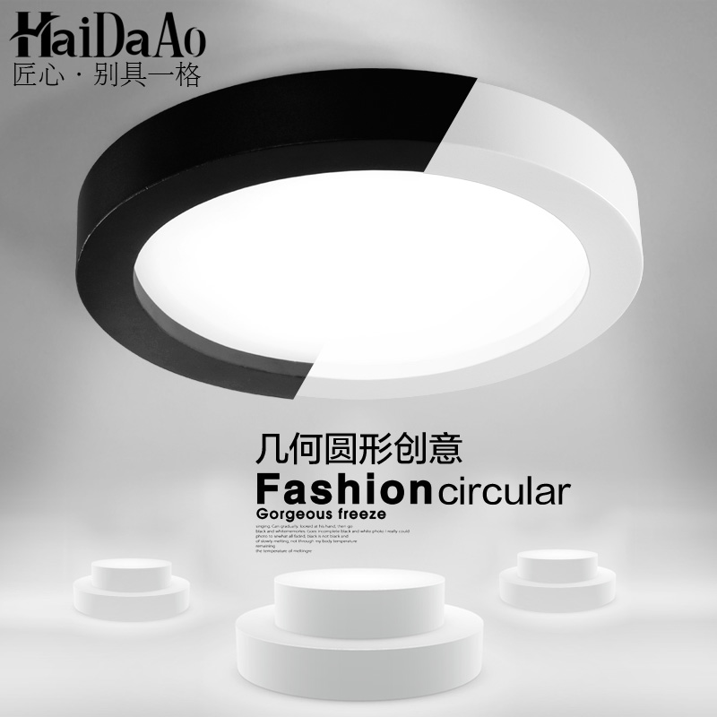 Us 33 0 40 Off Thin Circular Ceiling Lamps Simple Modern Living Room Bedroom Balcony Lamp Kitchen Lights Aisle Porch Study In