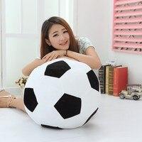 1pc 45cm Soccer Ball Plush Pillow Doll Toys World Football Fan Memorable Gift