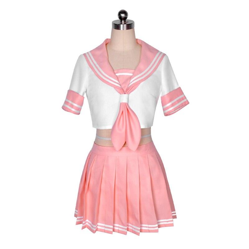 Astolfo FGO cosplay Fate/Apocrypha cosplay costume FATE GO JK uniform Sailor suit crop top skirt vestidos 1