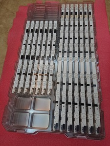Image 5 - Original novo Kit 14pcs tira CONDUZIDA Para Samsung UE40F5000 BN96 25520A 25521A 25304A 25305A 2013SVS40F D2GE 400SCA R3 D2GE 400SCB R3