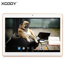 XGODY Y3 10.1 Inch Tablet PC Android 4.4 1GB RAM 16GB ROM Allwinner A33 Quad Core Dual Camera 1280*800 5000mAh Tablet WiFi OTG
