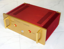 DIY box ( 440*160*300mm) All aluminum amplifier chassis / Preamplifier case / AMP Enclosure / case(China)
