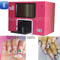 Digital Nail And Flower Printer Support Bluetooth Wireless Transfer Images And Printing On Nails