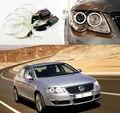 For Volkswagen VW Passat B6 Magotan 2006-2010 Xenon Headlight Excellent Ultrabright illumination CCFL Angel Eyes kit Halo Ring
