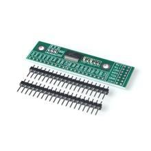 Mcp23017 i2c relação 16bit i/o módulo de extensão placa pino iic ao conversor gipo 25ma1 fonte de alimentação da movimentação para arduino e c51