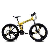 산악 자전거 자전거 26 인치 27 속도 3 나이프 더블 댐핑 산 접는 자전거 속도 2019 새로운