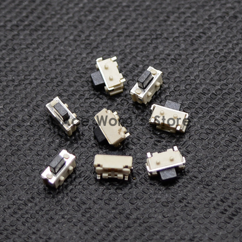 Free shipping 50PCS SMT 2X4X3.5MM Tactile Tact Push Button Micro Switch Momentary 20pcs lot 8x8x5 5mm 2pin g78 conductive silicone soundless tactile tact push button micro switch self reset free shipping