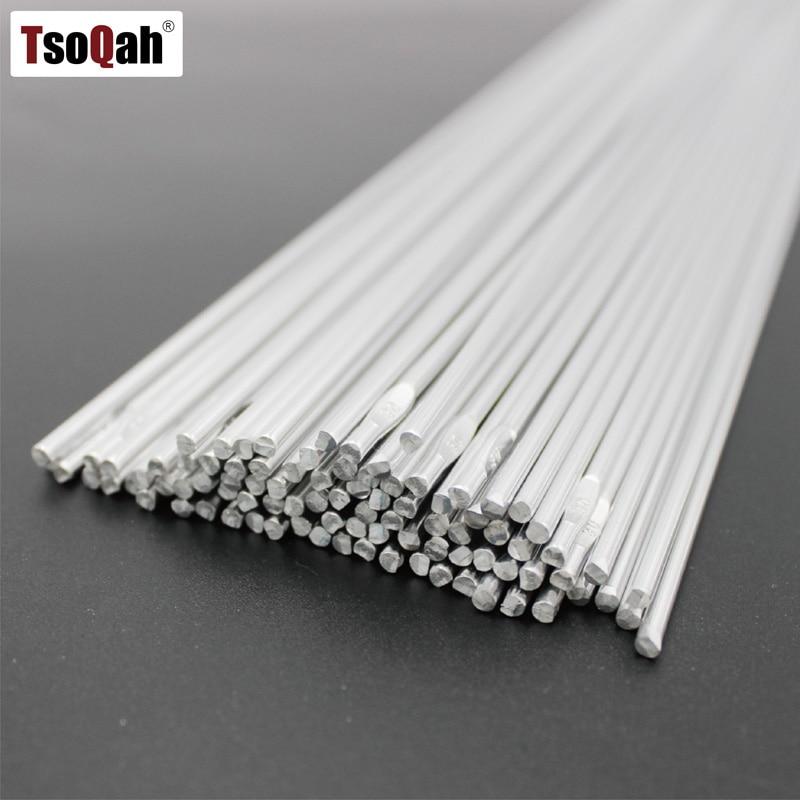 100pcs 2.0MM Aluminum Welding Rod Arc Flux Low Temperature Filler Soldering Tool