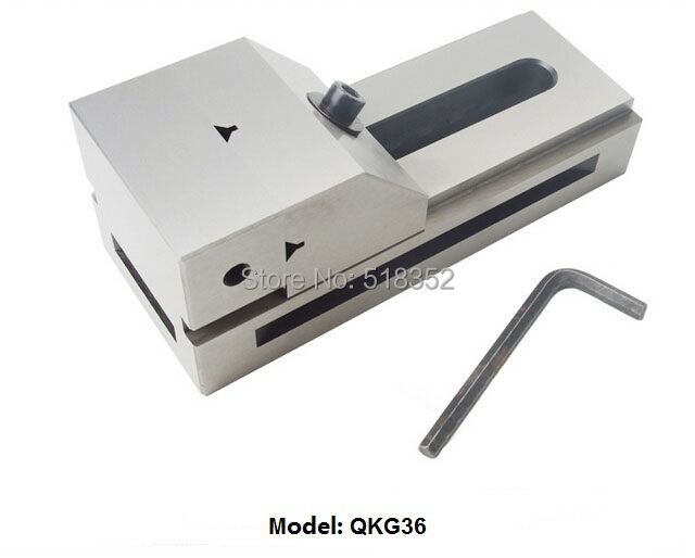 QKG36 Precision Tool Vises / High Precision Fast Moving Parallel-jaw Vice Jig Tools for EDM Wire Cutting Machine, Grinding