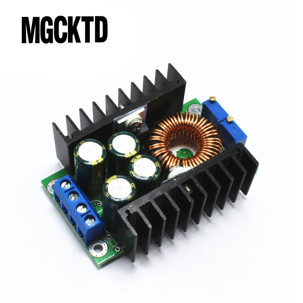 10pcs/LOT  DC CC 9A 300W Step Down Buck Converter 5-40V To 1.2-35V Power module