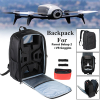 Travel Backpack Shoulder Bag Carrying Case Box For Parrot Bebop 2 Power FPV RC Drone Children Playing Tool