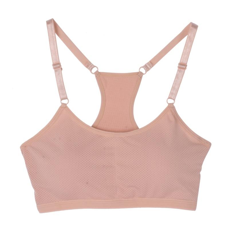 Women Seamless Adjustable Shoulder Strap Bras Stretch Workout Fitness Bras