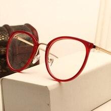 KOTTDO New Eyewear Frame Fashion Black Eyeglasses Vintage Metal Optical Spectacles Frame Glasses Women Glasses Frames Oculos De