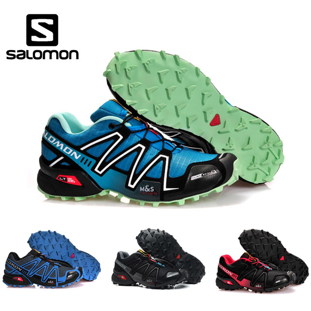 7464994d US $29.01 43% OFF| Hot Sale Salomon Speed Cross 3 CS III Men Sneakers  Durable Running Shoes Breathable Flats Shoes Trainers Footwear size 40  46-in ...
