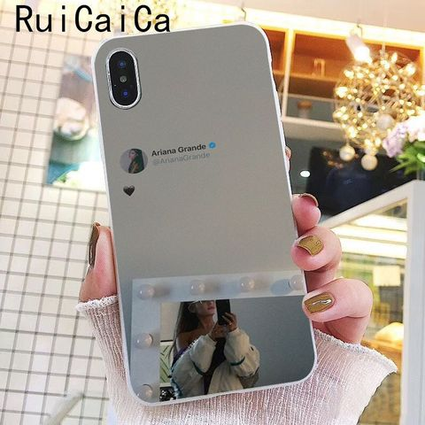Ruicaica Ariana Grande God is a woman DIY Printing Drawing Phone Case for iPhone 8 7 6 6S Plus X XS MAX 5 5S SE XR 10 Cover Lahore