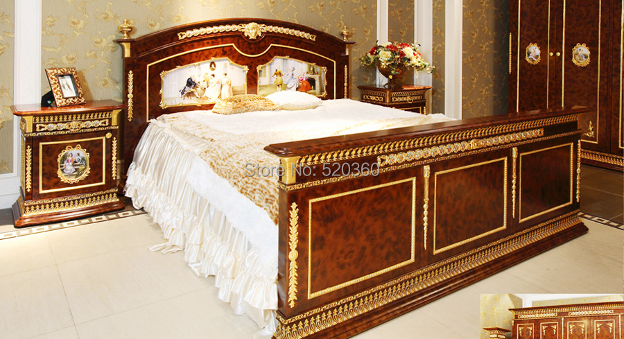 Luxury European Style Woodcarving Bedroom Set, Six Door Wardrobe, Coat  Rack In Bedroom Sets From Furniture On Aliexpress.com | Alibaba Group
