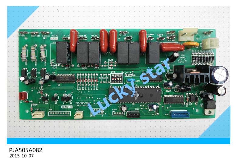 95% new for Mitsubishi Air conditioning computer board circuit board PJA505A082 board good working deppa чехол крышка deppa fifa рельеф для apple iphone 5 5s se полиуретан синий