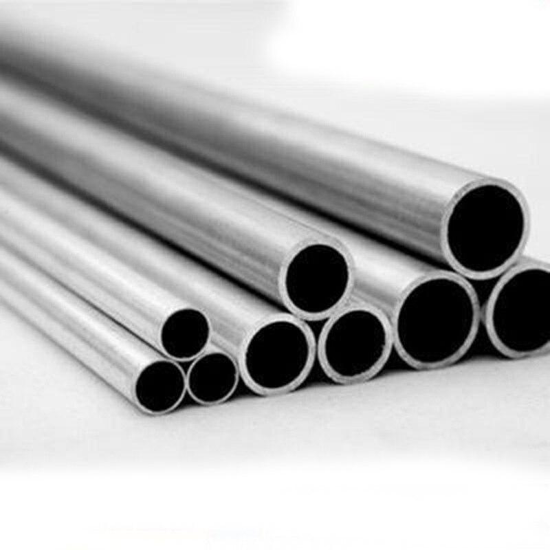 Tubo de aluminio de diámetro interior de 17mm-27,2mm, varilla hueca de aleación, tubo de perno duro, recipiente de conducto de 100mm L 31mm-31,8mm OD 1 Uds. Pipa de madera para tabaco hecha a mano, pipa para fumar cigarros, Triple barril de madera, soporte para cigarrillos, cigarros Pipa para