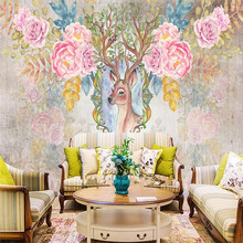 Forest abstract personality background wall professional production mural factory wholesale wallpaper poster photo