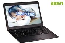 Bben windows 10 laptop netbook ram 4gb emmc 32gb intel N3150 cpu 500G HDD ultrathin notebook 14.1inch for white colors computer