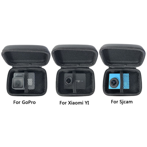 Image 2 - Mini Bag Portable Shockproof Storage box Compact waterproof Case For Gopro Hero 8 7 6 5 4 SJCAM Xiaomi Yi 4K MIJIA Action Camera