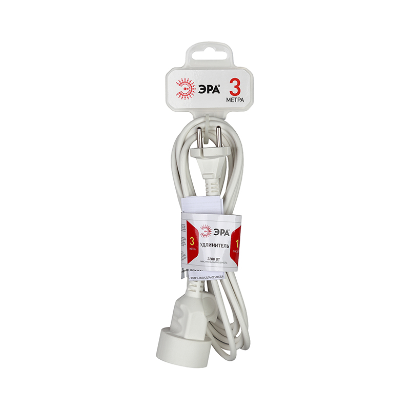 Extension Socket Era U-1-3m