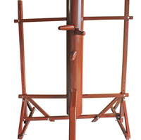 Frame Wing Chun Wooden Dummy entry level, wing chun mook jong Bruce Lee kung fu wooden dummy, Donnie Yen practice IP man 3