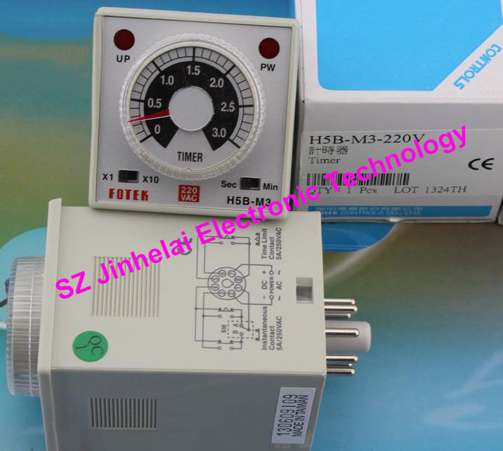 цена New and original H5B-M3-220V (H5B-M3 220V) FOTEK Time relay
