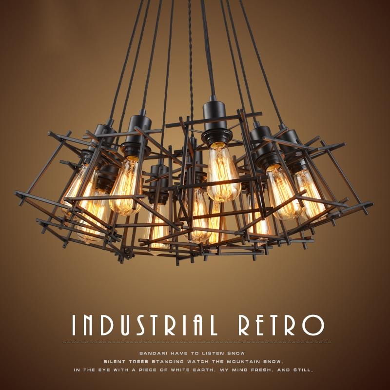 vintage led living room ceiling lights design acrylic bedroom kitchen light retro industrial ceiling lamp luminarias lighting
