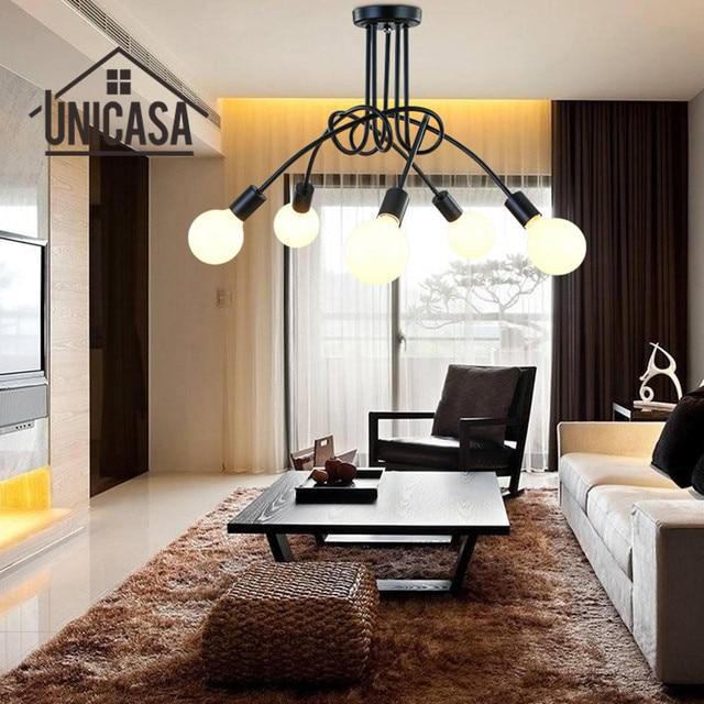 Moderne Plafond lampes Bar éclairage multi B lampes suspendues ...