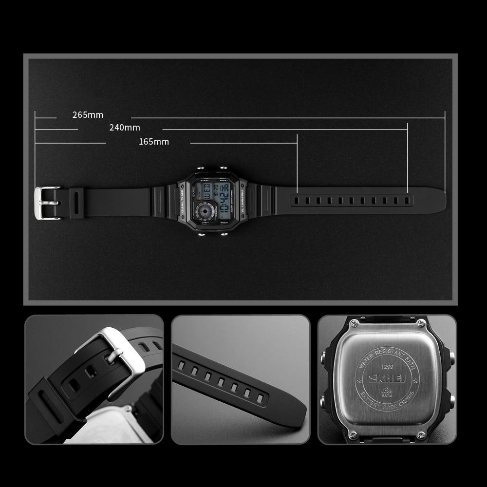 Skmei Sports Watch Men Top Brand Luxury Famous Led Digital Watches Male Clocks Men's Watch Relojes Deportivos Herren Uhren #4