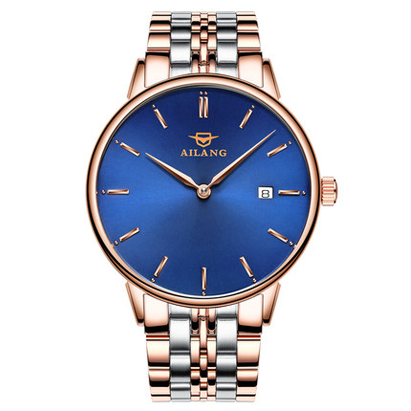 2017AILANG luxury brand new ultra-thin automatic mechanical watches is simple and stylish men watch sapphire watch steel 2017ailang luxury brand new ultra thin automatic mechanical watches is simple and stylish men watch sapphire watch steel