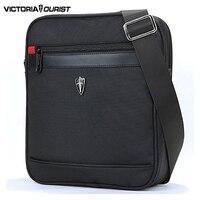 VICTORIATOURIST crossbody תיק שחור תיק כתף גברים שקית ניילון קלע נסיעות/חבילה עסקית V7002