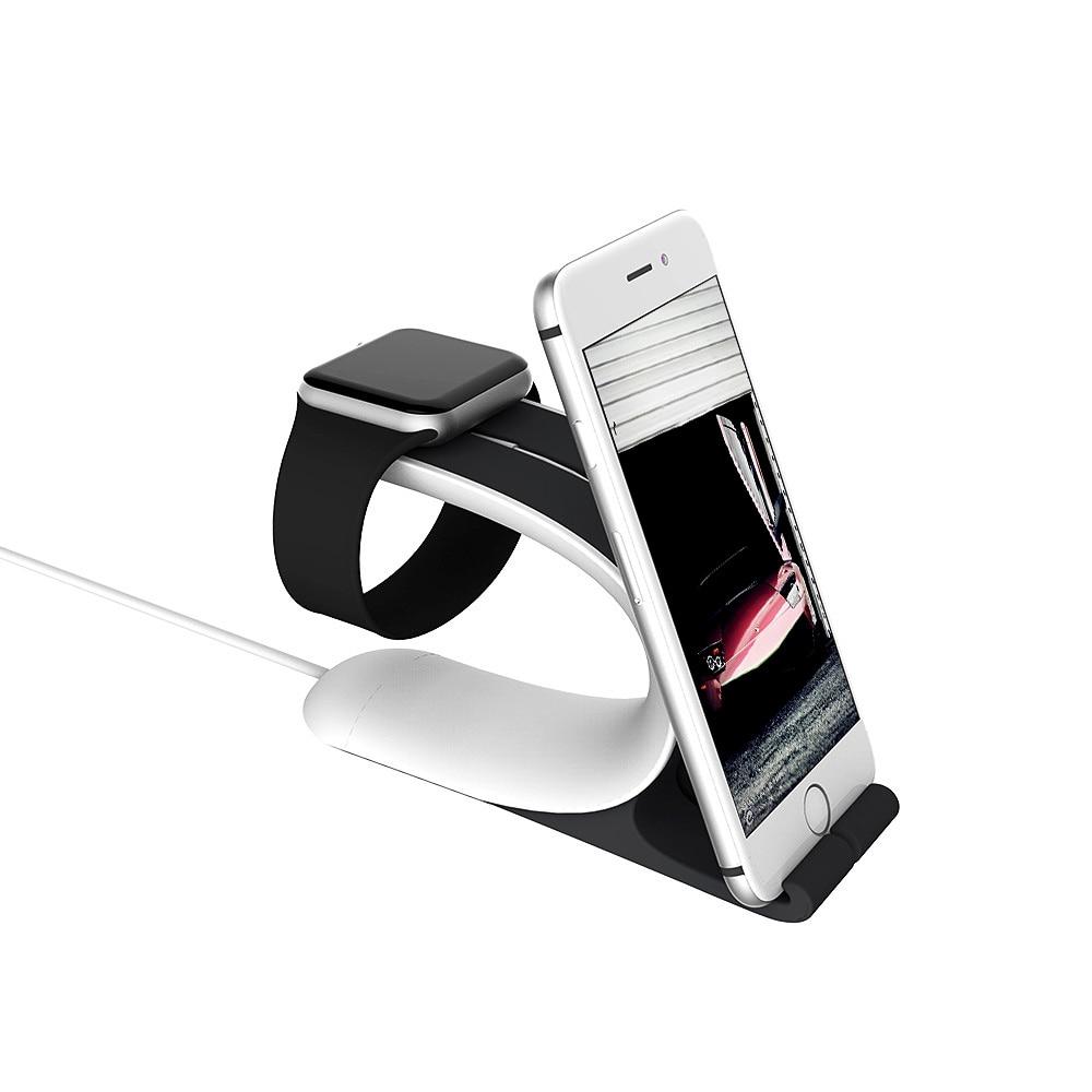 imágenes para Para el iphone 6 Montaje de Mobius de Carga Base de Carga para Apple para el iphone/iPad Tableta Del Teléfono Móvil Del Sostenedor Del Soporte