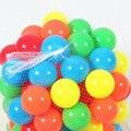 50 unids/set pe bolas pozo de aire suave lleno de casas de juego toys for kids niños