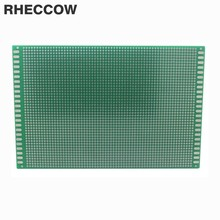 Rheccow 5 шт. 12x18 см 12*18 см Стекло-смола fr-4 прототипов лужения Луженая один двусторонняя Универсальный печатной платы