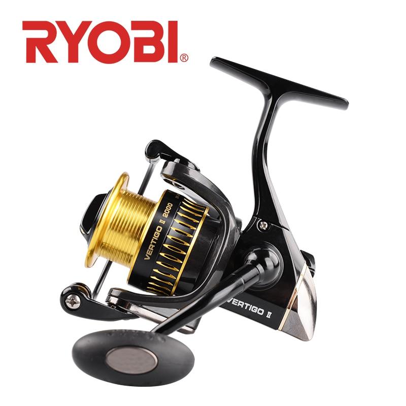RYOBI VERTIGO II fishing reel spinning 2000 3000 4000 carretilha de pesca carp fishing reels molinete