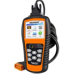 Image 2 - Nexpeak nx501 obd2 scanner automotivo motor do carro ferramenta de diagnóstico completa obd 2 protocolos análise dados suporte impressão/atualização