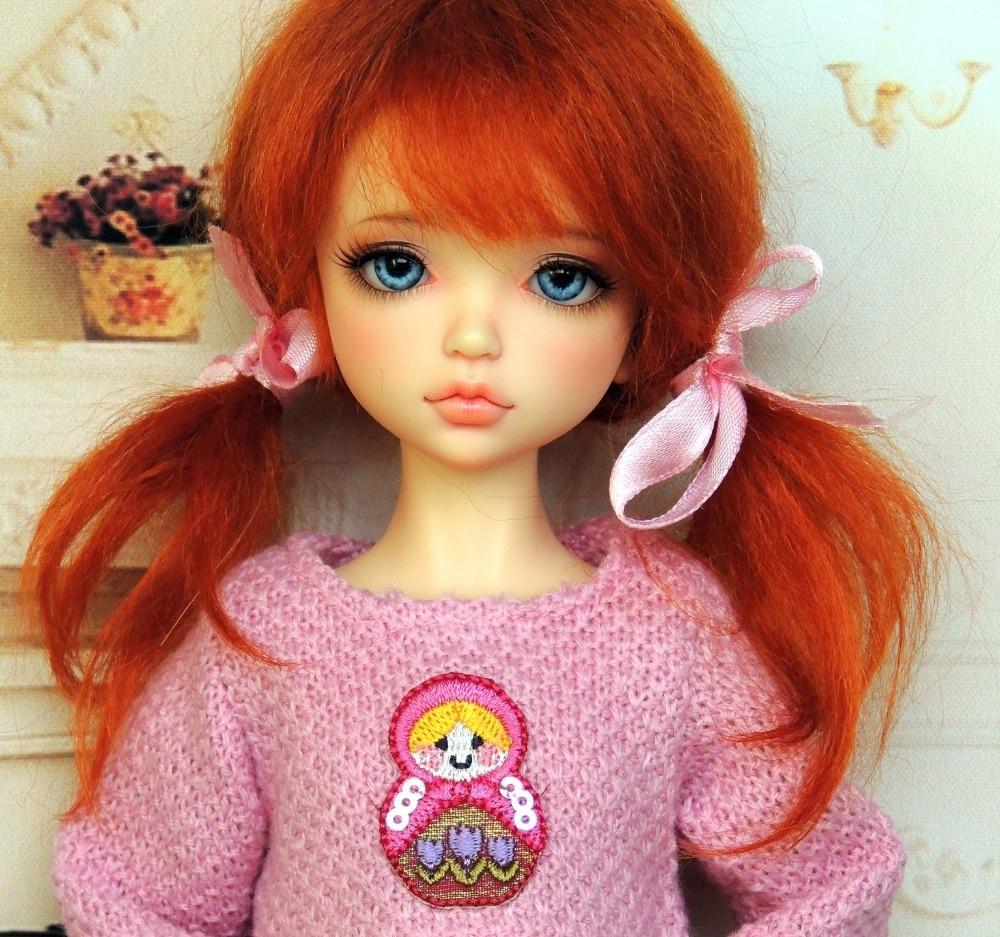 1 6 BJD resin doll Lonnie fashion girl Free eyes